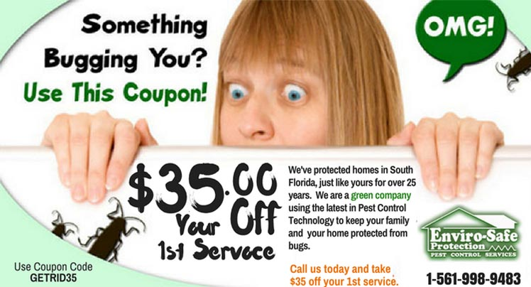 Get Rid of My Pests - Coupon